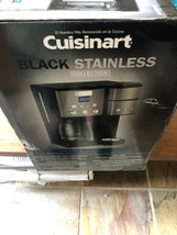 Cuisinart SS-15 12-Cup Coffee Maker and Single-Serve Brewer Black Edition  - $175.00