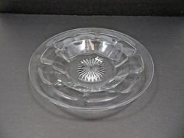 Vintage Mid Century large Elegant Heisey glass tray plate marked H - $40.00