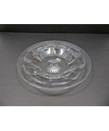 Vintage Mid Century large Elegant Heisey glass tray plate marked H - $40.00