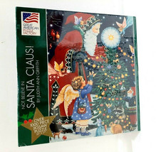 Not Believe In Santa Claus Christmas 1000 Piece Puzzle Great American Puzzle NEW - $24.99