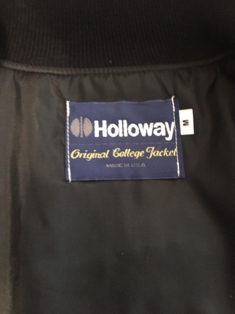 NWT Holloway Black Varsity Jacket, Size M and 11 similar items