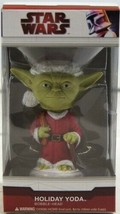 Star Wars Holiday Yoda as Santa Bobblehead by Funko Christmas NIB 2009 - $34.64