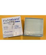 New Fisher Brand 12-550 Precleaned Microscope Slides Plain 75x25mm 1/2 G... - $22.87