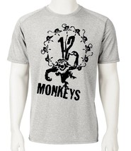 12 Monkeys Dri Fit graphic T-shirt retro 90s sci fi movie SPF active sun shirt image 2