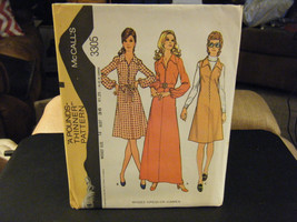 McCall's 3305 Misses Dress or Jumper Pattern - Size 14 Bust 36 - $8.89