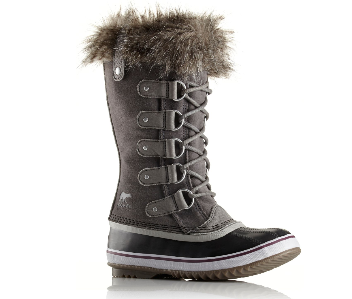 Primary image for Sorel,  Joan of Arctic™, Quarry Grey, Sz 10 (PREOWNED)