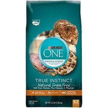 Purina One True Instinct Natural Grain-Free With Real Chicken Dry Cat Fo... - $20.08