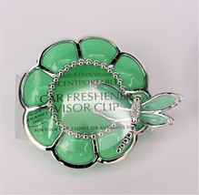 Bath & Body Works Green Dragonfly Flower Visor Clip Car Scent Scentportable - $14.99