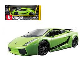 Lamborghini Gallardo Superleggera Green 1/24 Diecast Car Model by Bburago - $33.00