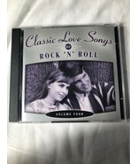 Time Life: Classic Love Songs of Rock 'N' Roll - Volume Four (2-disc CD)... - $13.76