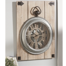"""Wall Clock Pocket Watch Design 23.6"""" x 31.5"""" Romain Numerals 1AA Battery Require - $135.99"""
