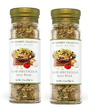2 X The Gourmet Collection -Salad Spectacular spice blend 4.9 oz each - $29.69