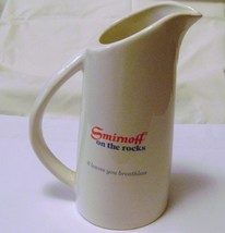 Vintage Smirnoff Ceramic Pitcher from Heublein - $15.00