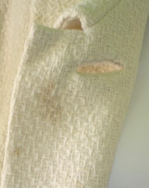 60's Pearl Round Collar Coat