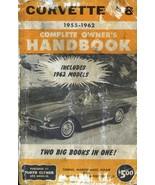 Corvette V-8 Original 1962 Printing - $30.00