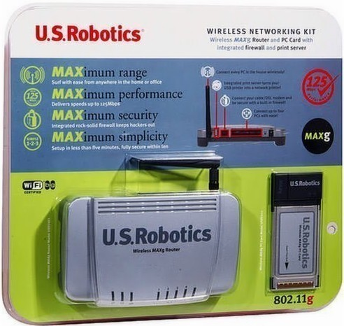 Primary image for New USRobotics Wireless Router Plus Wireless Card