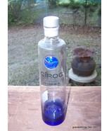 CIROC SNAP FROST VODKA 750ML COLLECTOR'S COBALT... - $20.00