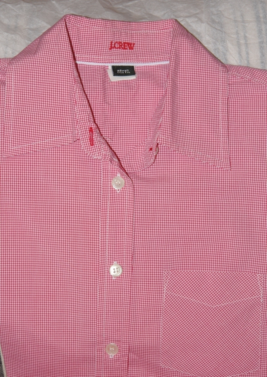 J. Crew Ladies Long Sleeve Shirt Size X Small