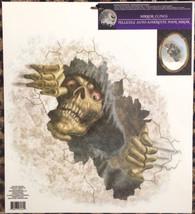 Gothic Horror-PEEPER GRIM REAPER-Fridge Window Mirror Cling Halloween De... - $5.91