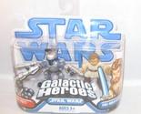 Star Wars Attack of the Clones Galactic Heroes - Jango Fett and Obi-Wan Kenobi