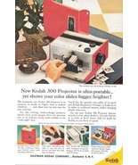 1957 Eastman Kodak 300 slide Projector promo print ad - $10.00