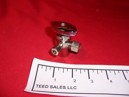"""Angle Shut Off Valve Dual Outlet 1/2"""" IPS  3/8"""" x 1/4"""" Compression  - $10.19"""