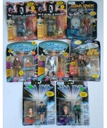 Star Trek Action Figure Lot of 8 Various - Sealed Packages Damaged - $47.99