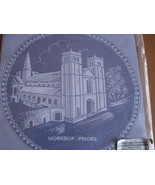 Stiebel Pictorial Lace Souvenir Worksop Priory England NIP - $5.93
