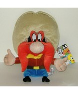 Looney Tunes Stuffed Yosemite Sam Cartoon Doll Plush  - $15.00