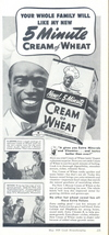 1939 Cream of Wheat Rastus Black Chef cereal print ad - $10.00