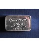 10 ounce Engelhard .999 fine silver bar - £313.35 GBP