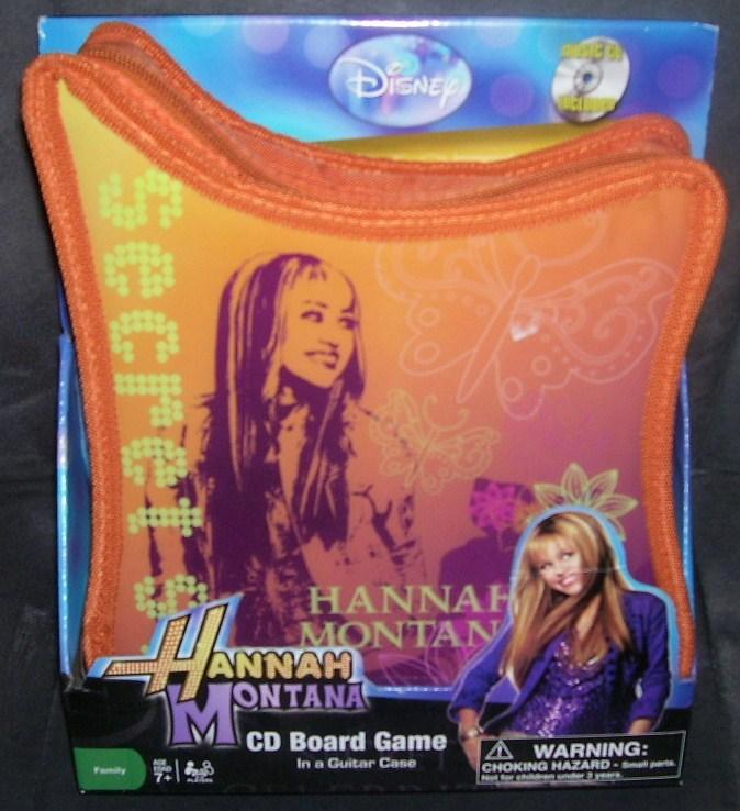 Hannah montana cd board game