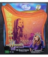 HANNAH MONTANA CD Board Game in a Guitar Case - $19.96