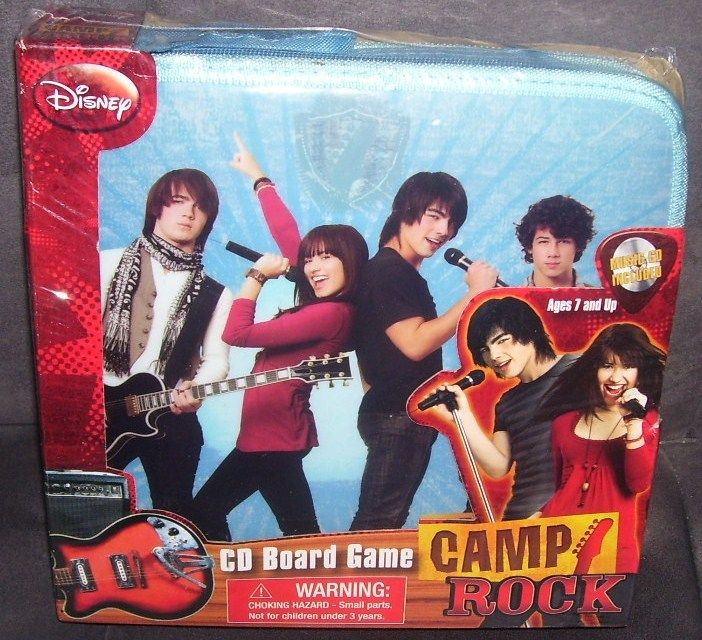 Disney CAMP ROCK CD Board Game NEW & SEALED!