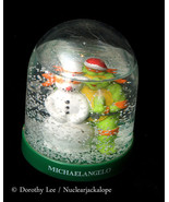 Teenage Mutant Ninja Turtles Snow Globe Michaelangelo - $14.99