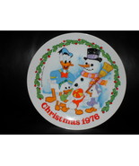 Vintage Disney 1976 Christmas Collector Plate - $34.99