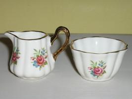 Sandford English Bone China Miniature Creamer & Sugar Bowl - $14.99
