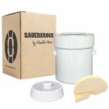 "Humble House Fermentation Crock German-Style SAUERKROCK ""Original"" 5 Lit... - $89.12"