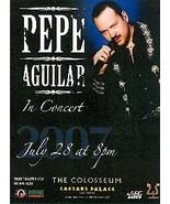 Pepe Aguilar In Concert Vegas Promo Card - $1.95