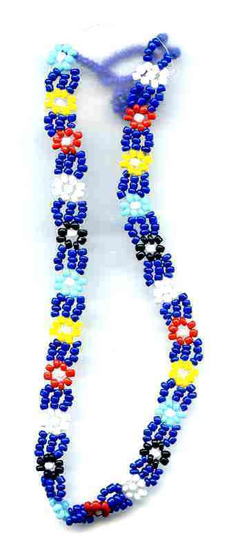 Necklace glass seed bead 1501