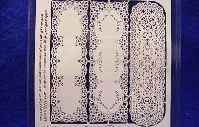Dollhouse Salt /& Pepper Set Colorama Pattern Karen/'s Miniatures Green
