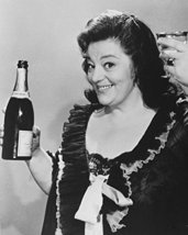 Hattie Jacques Carry On Star With Bottle Of Champagne 16X20 Canvas Giclee - $69.99