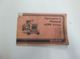 1982 Simplicity 6200 Serie Operadores Manual Dañada Stained Factory OEM ... - $10.88