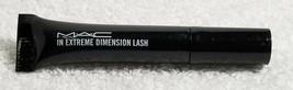 Mac Mascara In Extreme Dimension Lash Black Travel Deluxe Sample Mini Size New - $7.43