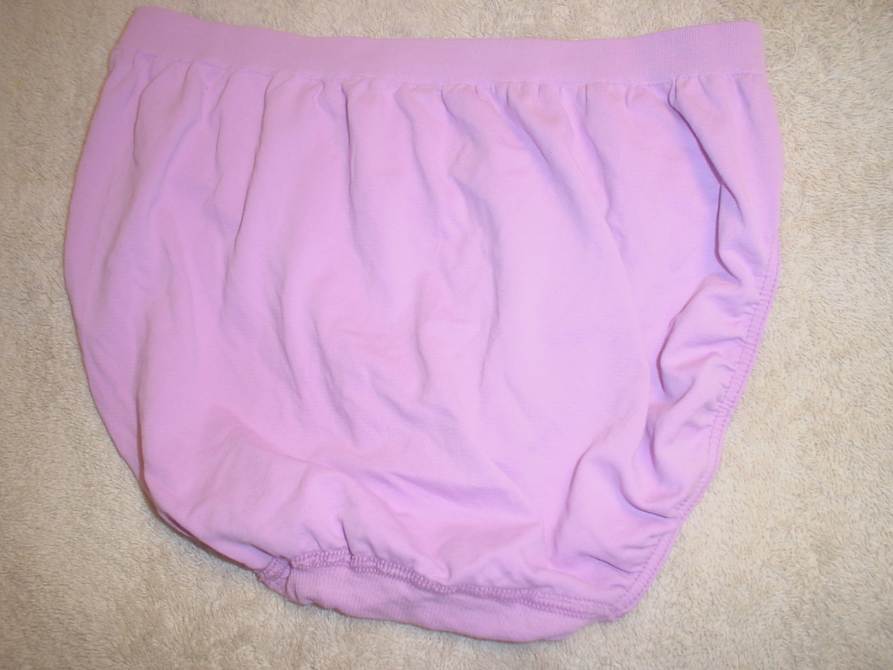 Jockey Seamfree Panty 6/Medium Light Purple SP-Slightly Imperfect LOt of 2 NWOT