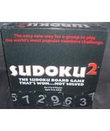 SUDOKU 2 Board Game NEW & SEALED! - $21.96
