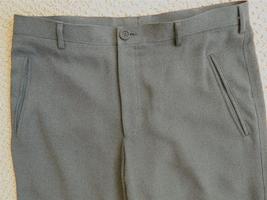"GIORGIO ARMANI Black Label Dress Pants Charcoal 32 1/2"" waist x 30 - $80.00"