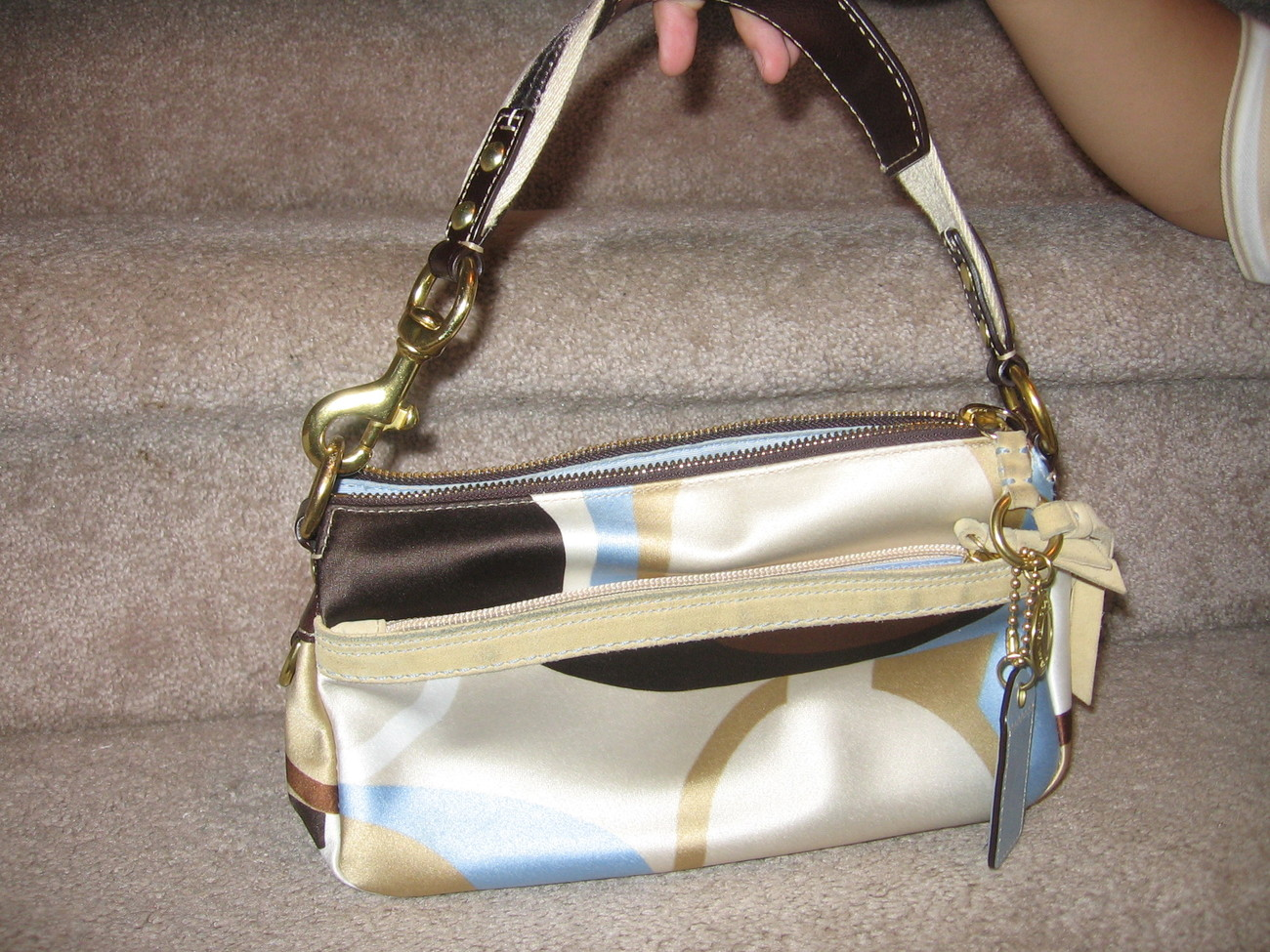 Matching Coach Set≈Bag and Shoes Siz  6