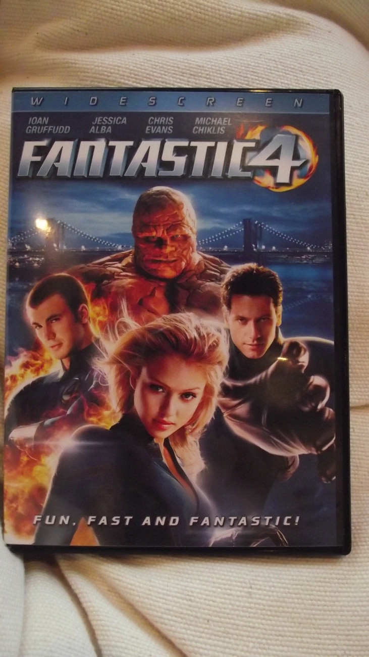 Fantastic 4 Dvd Movie