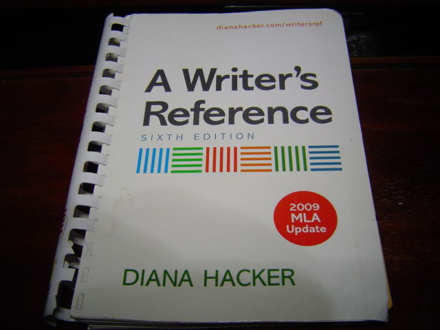 Primary image for A WRITER'S REFERENCE + 2009 MLA UPDATE 6TH EDITION BY DIANA HACKER